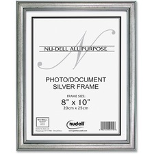 Glolite Nu-dell Antique Silver Wood Frame