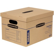 FEL 7714210 Fellowes Lift-Off Lid Classic Small Moving Boxes FEL7714210