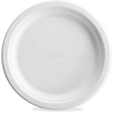 HUH CH21227 Huhtamaki Classic Chinet White Molded Plates HUHCH21227