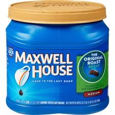 Maxwell House Decaffeinated Coffee