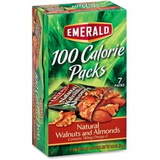 DFD 54325 Diamond 100 Calorie Packs Nat. Walnuts/Almonds DFD54325