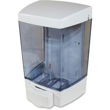 Genuine Joe 46oz Liquid Soap Dispenser - 1.36 L Capacity - White