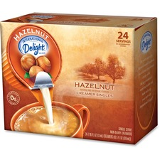 ITD 100680 Int'l Delight Hazelnut Measured Liquid Creamer ITD100680