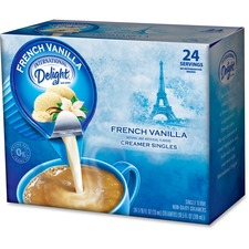 ITD 100681 Int'l Delight French Vanilla Coffee Creamer ITD100681