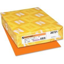 WAU 26721 Wausau Neenah Exact Brights Paper WAU26721