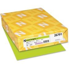 WAU 26791 Wausau Neenah Exact Brights Paper WAU26791