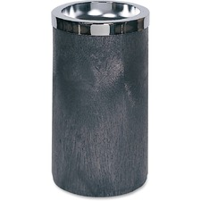 RCP 258500BK Rubbermaid Comm. Smoking Urn w/Metal Ashtray RCP258500BK