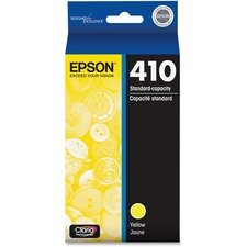 Epson Claria 410 Original Ink Cartridge - Yellow - Inkjet - Standard Yield - 300 Pages