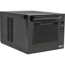 Tripp Lite SmartRack 7,000 BTU 120V Rack-Mounted Air Conditioning Unit - Cooler - 7000 BTU/h Cooling Capacity - Yes - Black
