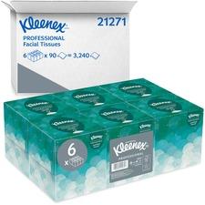KCC 21271CT Kimberly-Clark Kleenex Boutique Facial Tissue KCC21271CT