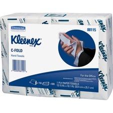 KCC 88115CT Kimberly-Clark Kleenex C-Fold Hand Towels KCC88115CT