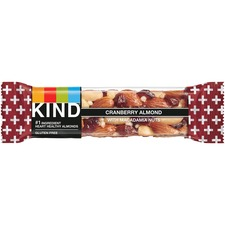 KND17211 - KIND Cranberry Almond Plus Antioxidants Snack Bars
