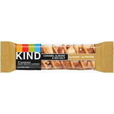 KND18533 - KIND Caramel Almond/Sea Salt Nuts/Spices Snack Bar