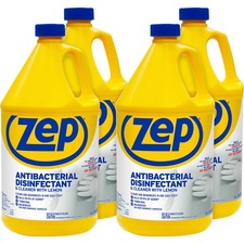 ZPE ZUBAC128CT Zep Inc. Antibacterial Disinfectant Lemon Cleaner ZPEZUBAC128CT