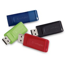 Verbatim 16GB Store 'n' Go USB Flash Drive - USB 2.0 - 4pk - 16 GB - USB 2.0