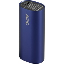 APC Mobile Power Pack, 3000mAh Li-ion Cylinder, Blue