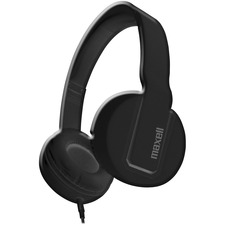 MAX 290103 Maxell Solid2 Black Headphones MAX290103