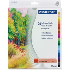 Staedtler karat 2430 Soft Pastel Chalk - Assorted - 24 / Set