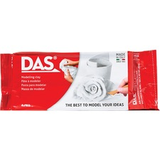 DAS Air Hardening Modeling Clay - Art Project, Classroom - 1 Each - White