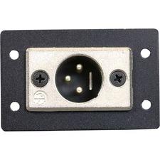 C2G Wiremold Audio/Video Interface Plates (AVIP) Neutrik XLR 3-Pin Male to Solder Cups