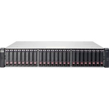 HP 2040 SAN Array - 24 x HDD Supported - 8 x HDD Installed - 7.20 TB Installed HDD Capacity - 24 x SSD Supported - 4 x SSD Installed - 1.60 TB Installed SSD Capacity