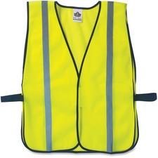EGO 20040 Ergodyne Glowear Lime Standard Vest EGO20040