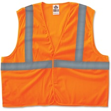EGO 20967 Ergodyne GloWear Class 2 Orange Super Econo Vest EGO20967