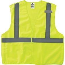 EGO 21073 Ergodyne GloWear Lime Econo Breakaway Vest EGO21073