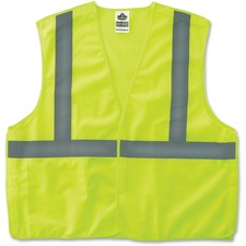 EGO 21077 Ergodyne GloWear Lime Econo Breakaway Vest EGO21077