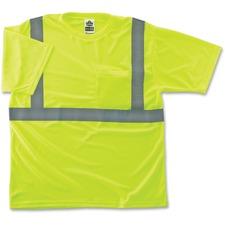 EGO 21503 Ergodyne GloWear Class 2 Reflective Lime T-Shirt EGO21503