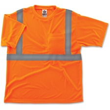 EGO 21516 Ergodyne GloWear Class 2 Reflective Orange T-Shirt EGO21516