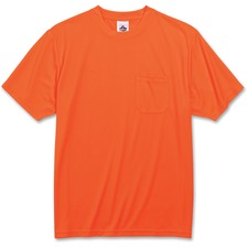 EGO 21565 Ergodyne GloWear Non-certified Orange T-Shirt EGO21565