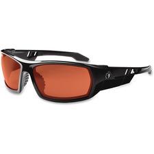 EGO 50020 Ergodyne Skullerz Odin Copper Lens Safety Glasses EGO50020