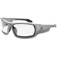 EGO 50100 Ergodyne Clear Lens/Gray Frame Safety Glasses EGO50100