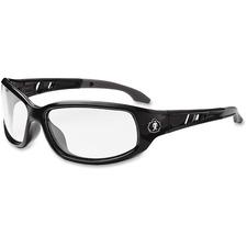 EGO 54000 Ergodyne Valkyrie Clear Lens Safety Glasses EGO54000