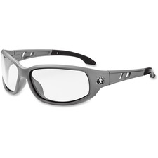 EGO 54100 Ergodyne Valkyrie Gray Frame Safety Glasses EGO54100