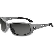 EGO 54130 Ergodyne Smoke Lens/Gray Frame Safety Glasses EGO54130