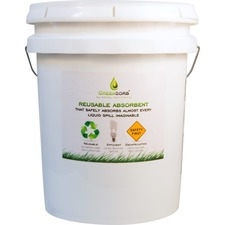 BCG GS25 Sorbent Green Reusable Absorbent BCGGS25