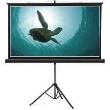 QRT 85568 Quartet Tripod Base Wide Projection Screen QRT85568
