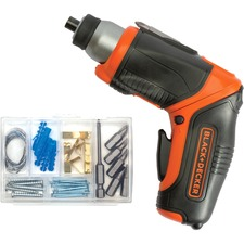 Black & Decker 4V MAX Lithium Pivot Screwdriver with Accessories