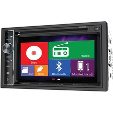 "Power Acoustik PD-62H2B Car DVD Player - 6.2"" Touchscreen LED-LCD - Double DIN"