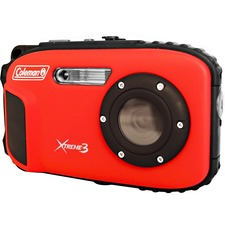 Coleman Xtreme3 C9WP Compact Camera - Red