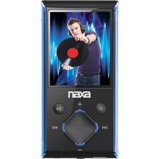 Naxa NMV-173N 4 GB Blue Flash Portable Media Player
