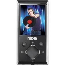 Naxa NMV-173N 4 GB Silver Flash Portable Media Player