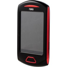 Naxa NMV-179 4 GB Red Flash Portable Media Player