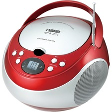 Naxa Portable CD Player with AM/FM Stereo Radio