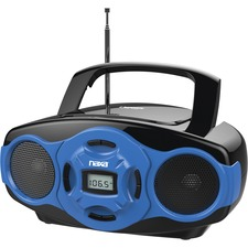 Naxa Portable MP3/CD Boombox and USB Player