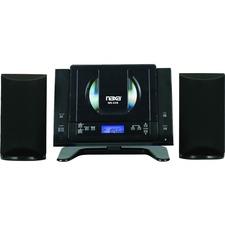 Naxa NS-439 Micro Hi-Fi System - 4.4 W RMS - Black