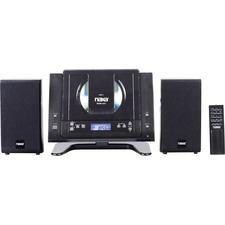 Naxa NSM-437 Micro Hi-Fi System - 4.4 W RMS - iPod Supported - Black