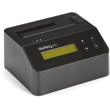 "StarTech.com USB 3.0 Standalone Eraser Dock for 2.5"" and 3.5"" SATA SSD/HDD Drives - Secure Drive Erase with Receipt Printing - SATA I/II"